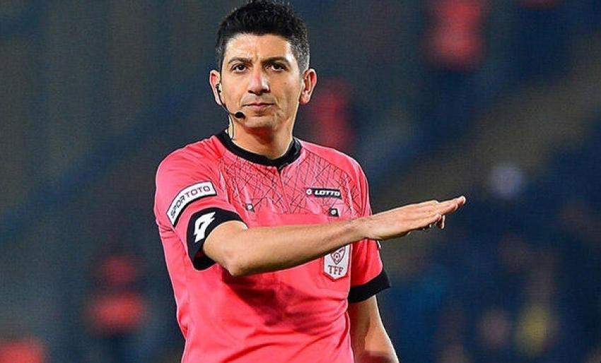 İşte Adana'daki maçın hakemi