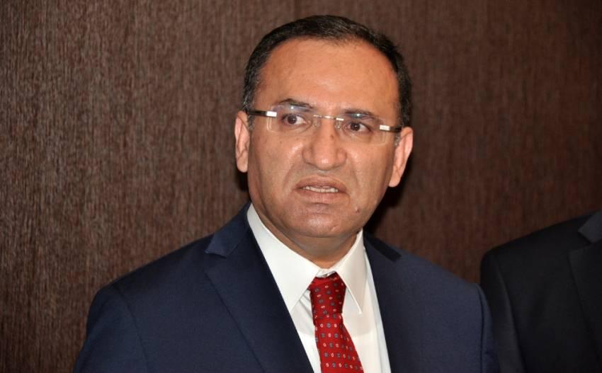 Adalet Bakanı Bekir Bozdağ komisyonda konuştu