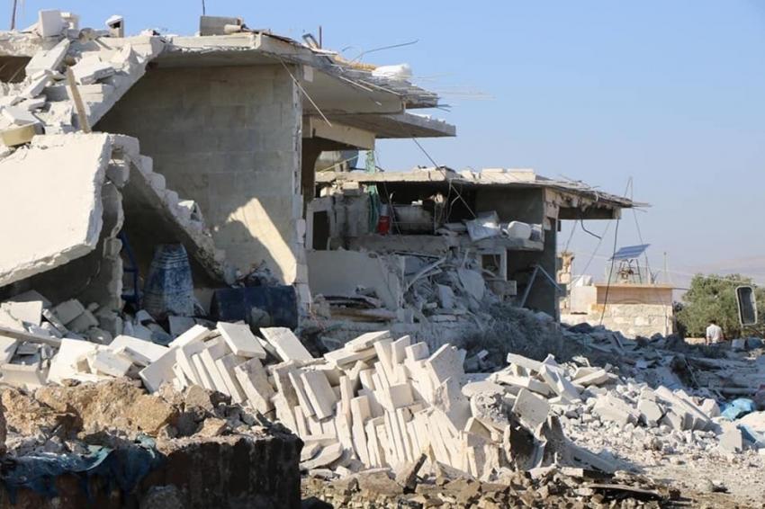 Rus uçaklarından Halep'e saldırı: 6 ölü, 20 yaralı