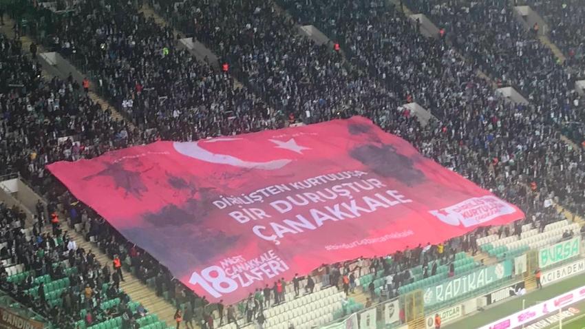 Timsah Arena'da 18 Mart Çanakkale Destanı kutlandı
