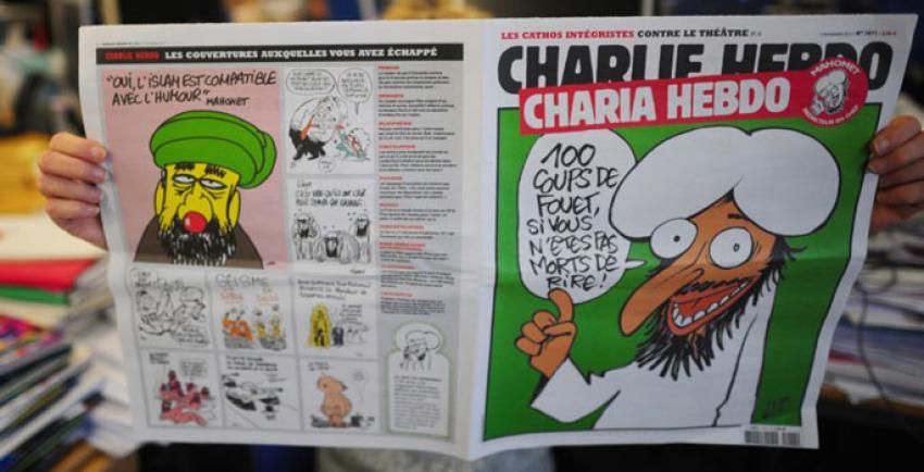 'Hz. Muhammed karikatürleri' sergisi tartışma yarattı