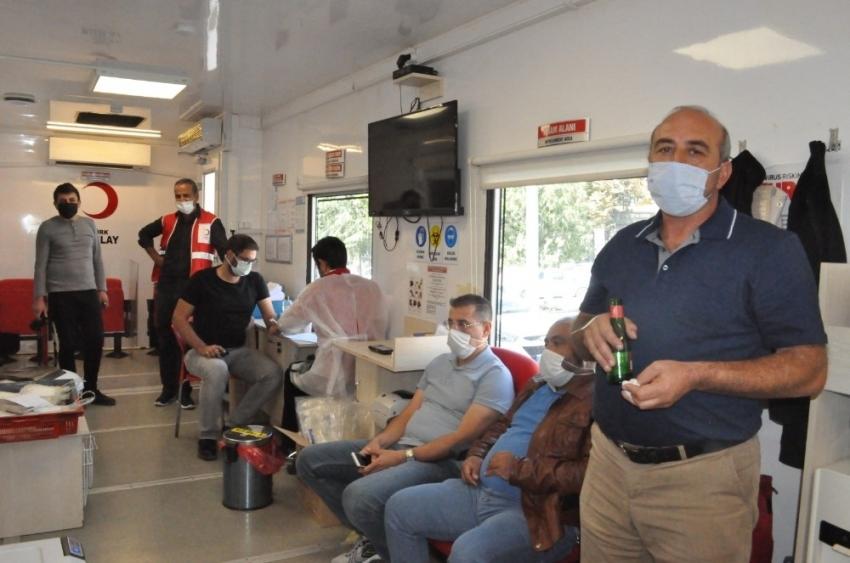 Sungurlu'da kan bağışı kampanyası