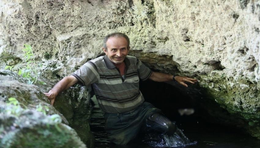 Bursa'da şifa arayanlar bu tünele geliyor!