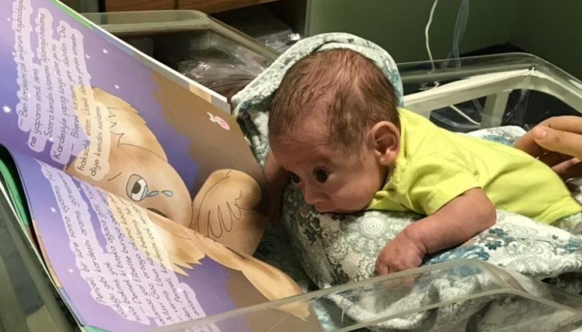 600 gram doğan Umut bebek hayata tutundu