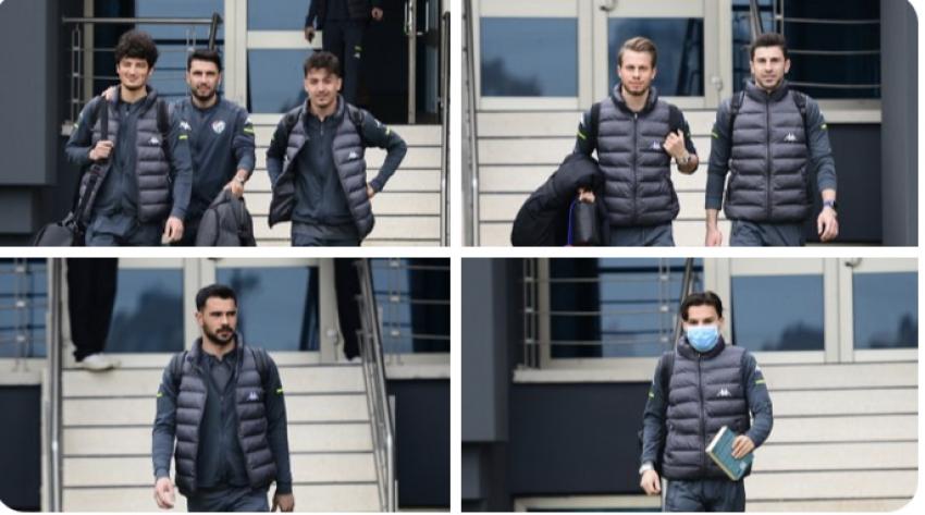 Bursaspor, Adana deplasmanı için yola çıktı