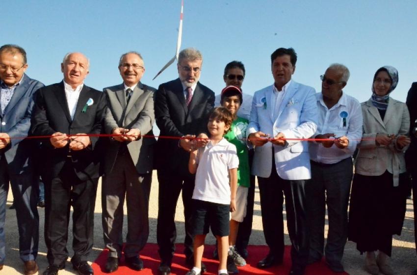 Bakan Yıldız enerji santralinin açılışını yaptı