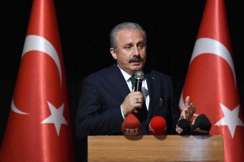 """TBMM Başkanı Şentop: """"Türkiye, Suriye'de kalıcı barışın sağlanması için her türlü girişimin içinde"""""""