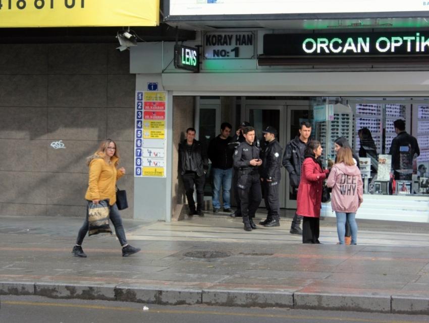 Ankara'da pompalı tüfek dehşeti
