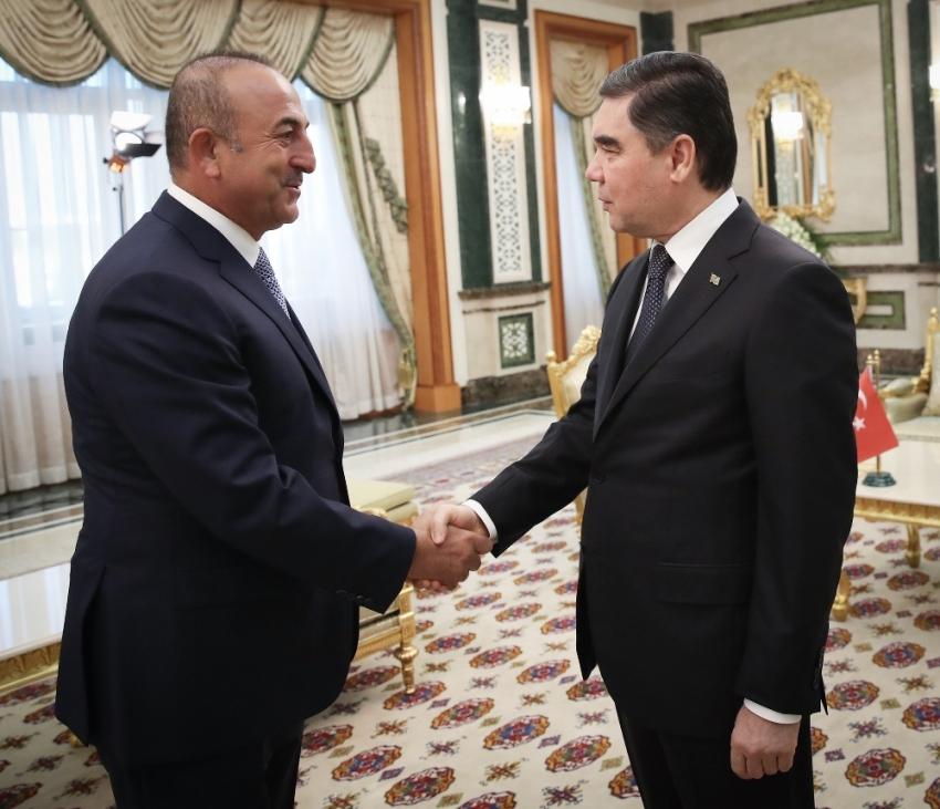 Çavuşoğlu, Türkmenistan Başbakanı ile görüştü