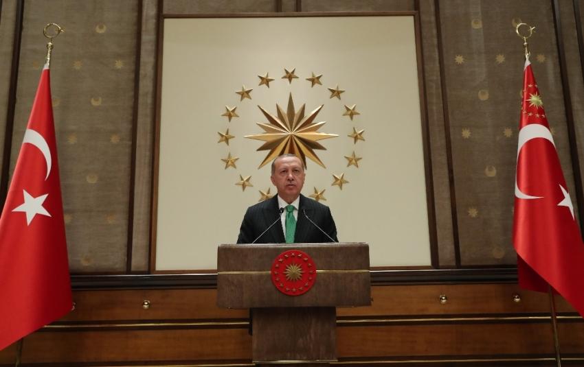 Beştepe'deki toplantı 2,5 saat sürdü