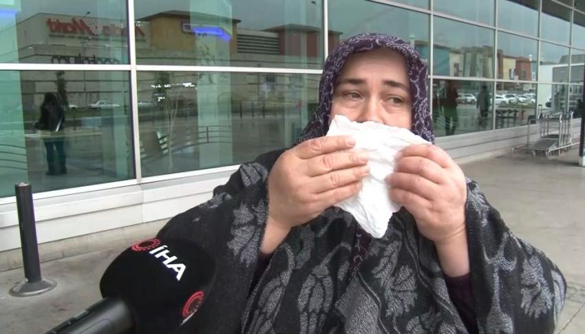 Bursa terminalinde bilet bulamadı hüngür hüngür ağladı