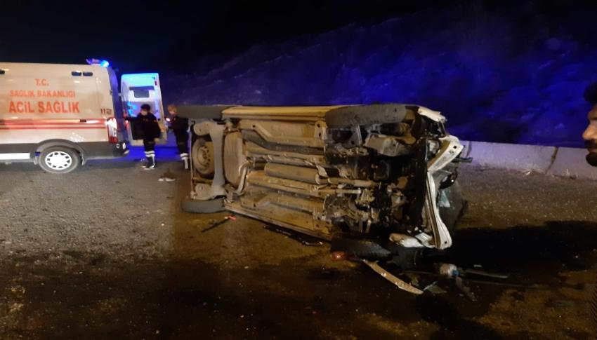 Bilecik'te trafik kazası 1 ölü, 1 yaralı
