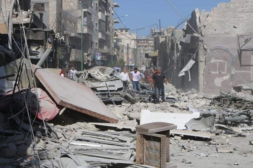 Esad rejimi ve Rus savaş uçakları İdlib'e yine saldırdı