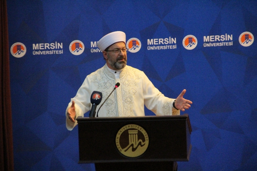 """Diyanet İşleri Başkanı Ali Erbaş'tan """"medrese"""" vurgusu"""