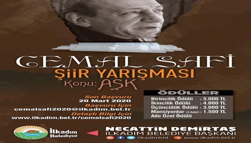 Cemal Safi Şiir Yarışması'nda başvuru için son 10 gün