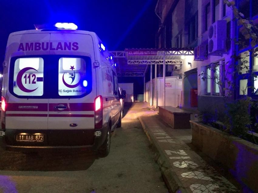 Bilecik'te 12 asker hastanelik oldu