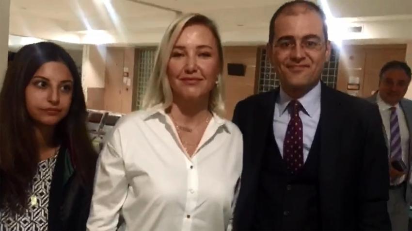 Berna Laçin'in o tweeti ile ilgili dava başladı