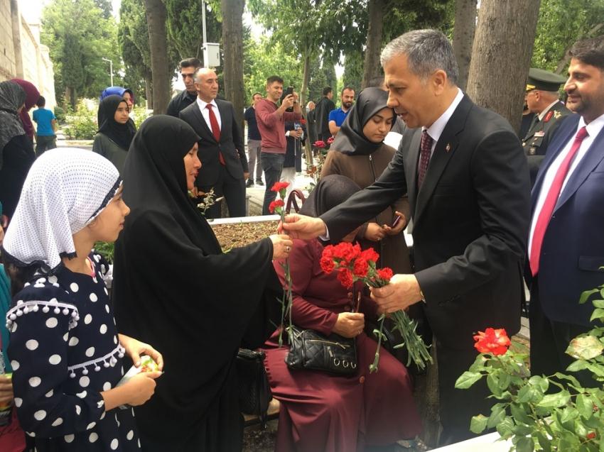 15 Temmuz Şehitliği'nde anma töreni düzenlendi
