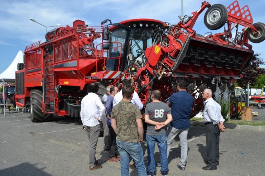 500 bin euroluk makine fuarın gözdesi oldu