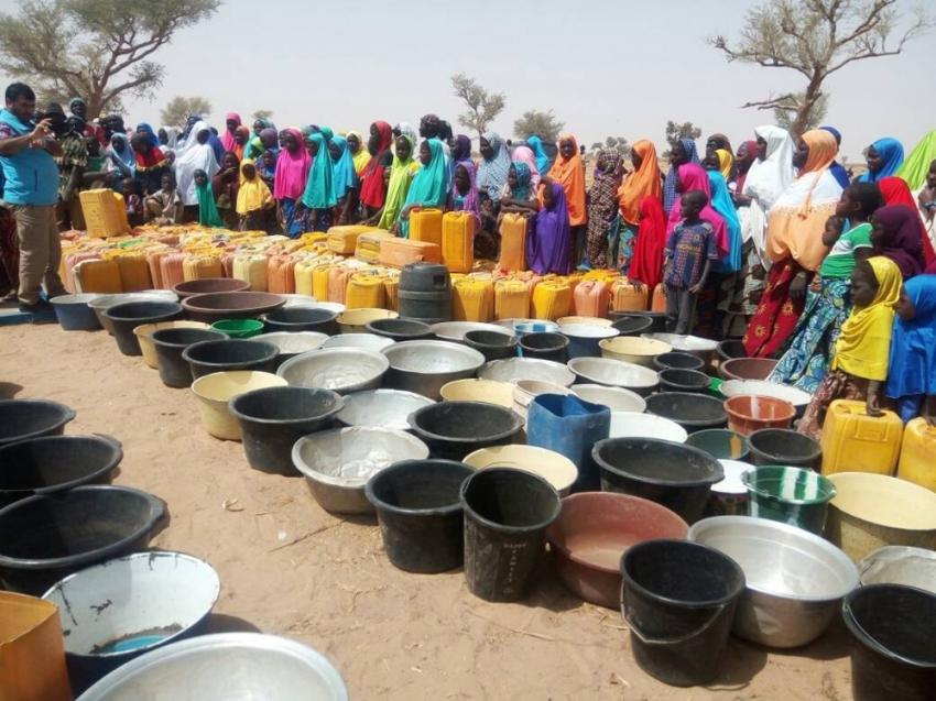 Nijer'in içme suyu problemine çare Türkiye'den