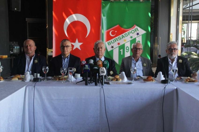 Bursaspor Divan Yönetimi'nden önemli açıklama