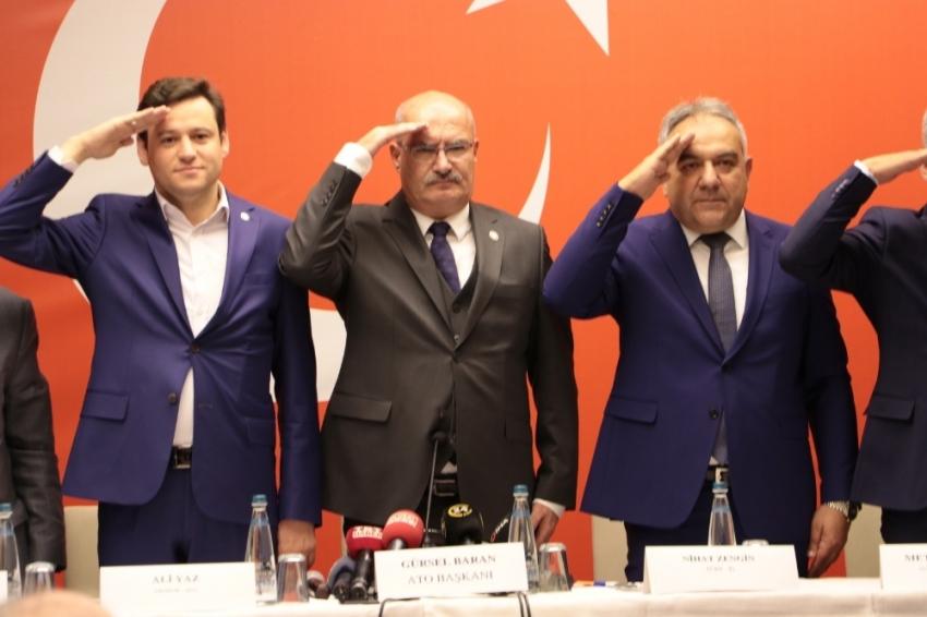 """81 ilin oda ve borsalarından """"Barış Pınarı Harekatı""""na destek"""