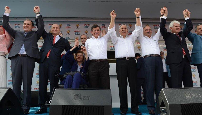 Bursa'dan Davutoğlu geçti