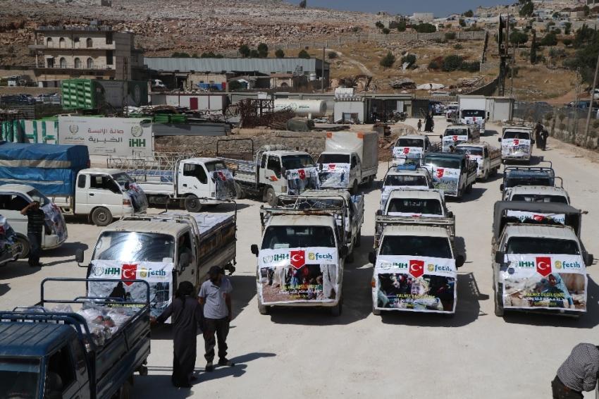 İdlib'e yardım konvoyu