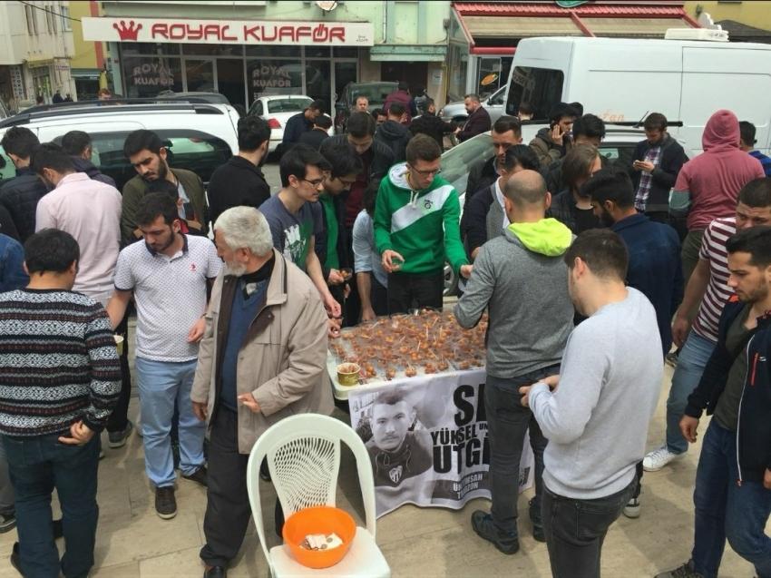 Ünitimsah Trabzon, Yüksel Utgin'i unutmadı
