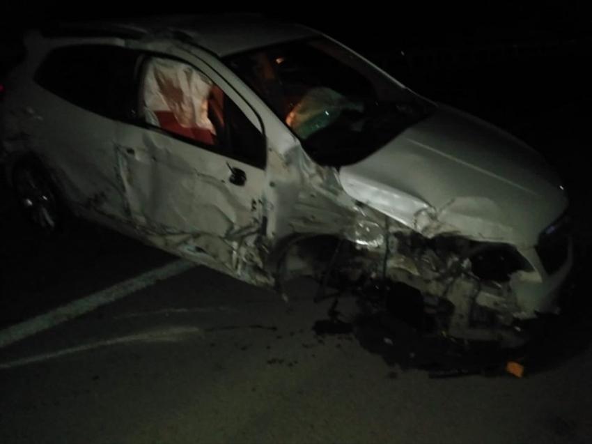 İnegöl'de trafik kazası:1 yaralı