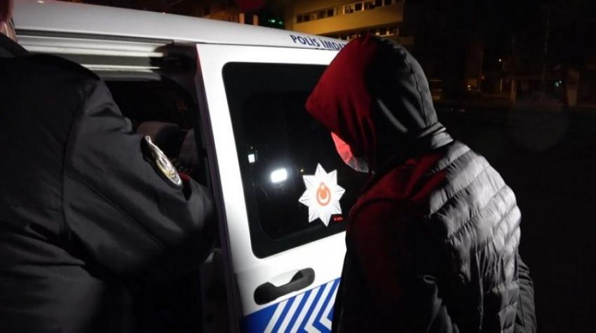 Bursa'da sabah cezaevinden çıktı akşam gözaltına alındı