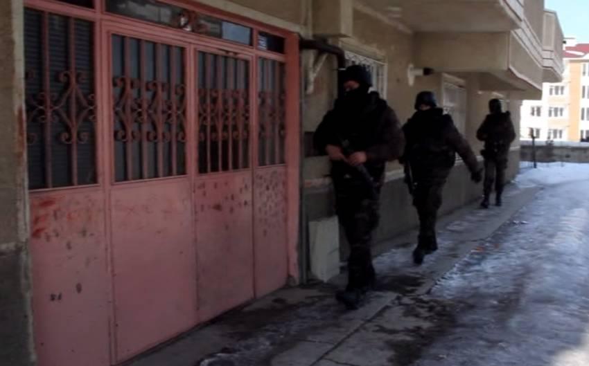 Erzurum'da PKK operasyonu: 21 gözaltı
