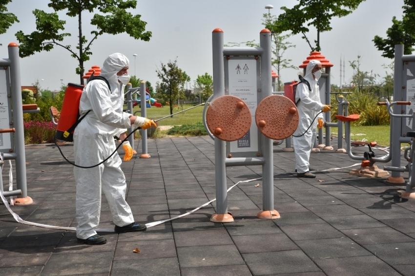 Bursa'da parklar, pandemi sonrasına hazırlanıyor