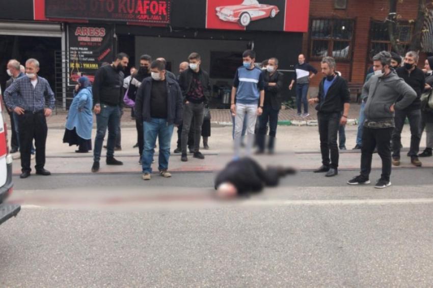 Bursa merkezde feci kaza: 1 ölü!