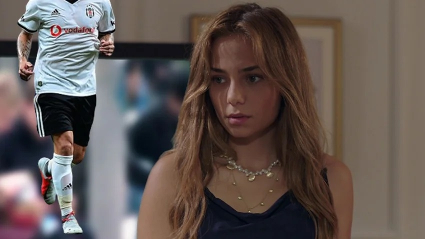 Bahar Şahin'in gizemli futbolcu sevgilisi ortaya çıktı