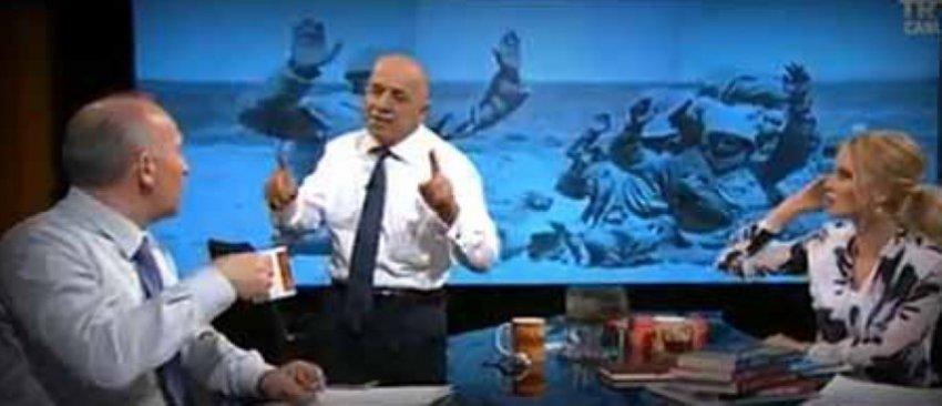 TRT ekranlarında skandal!