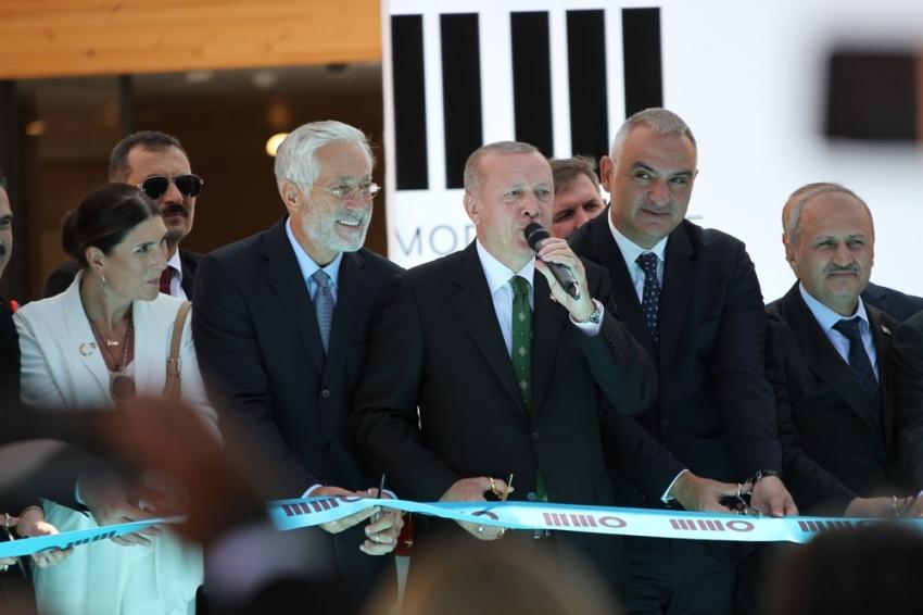 Cumhurbaşkanı Erdoğan Odunpazarı Modern Müze'nin açılışına konuştu