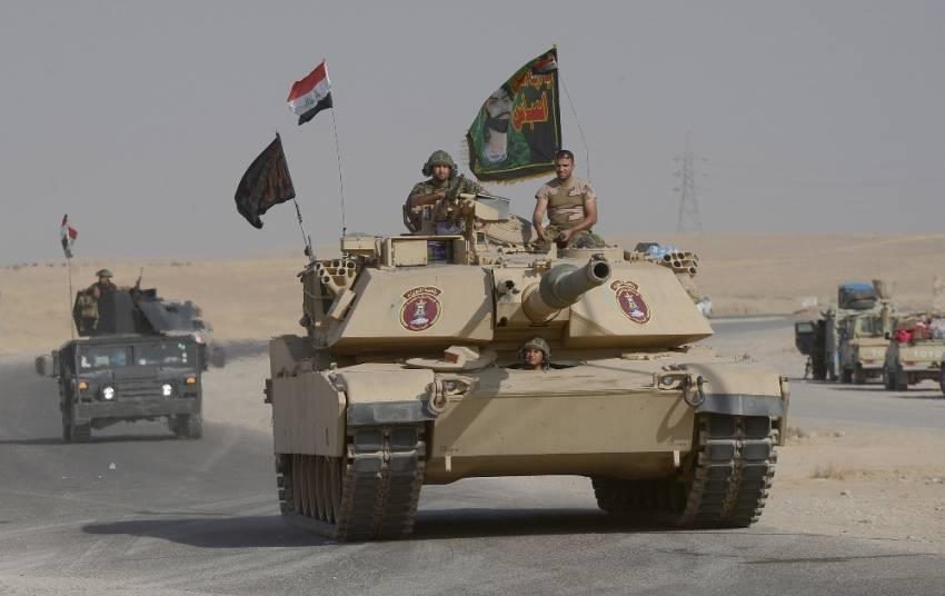 Irak ordusunda dikkat çeken ayrıntı