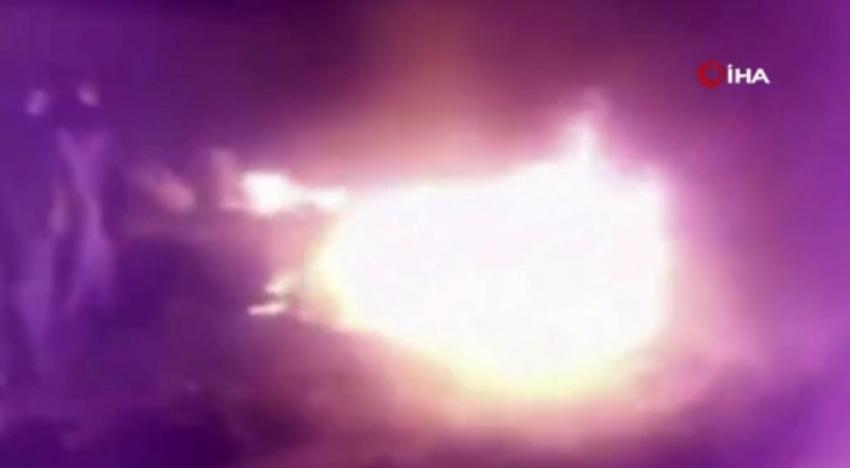 Kerkük'te mülteci kampında yangın: 4 çocuk öldü