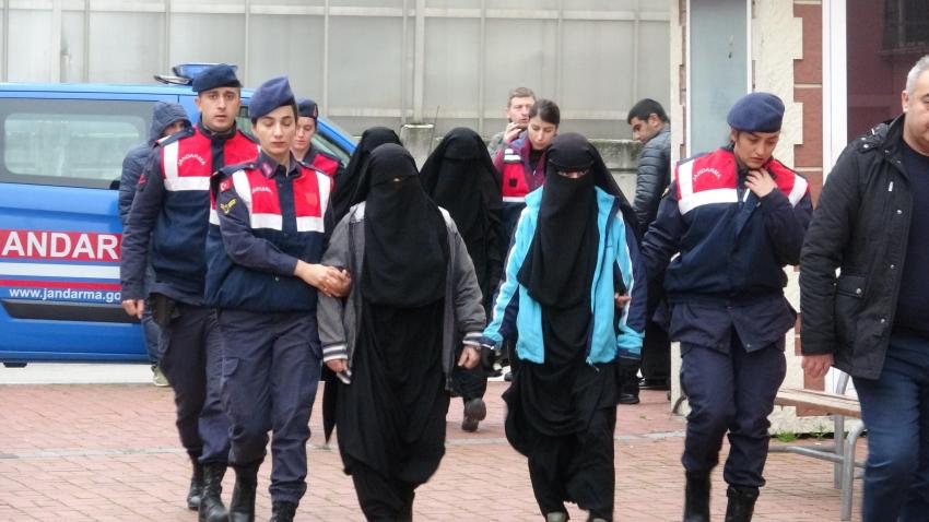 DEAŞ'lı 4 kadın yakalandı