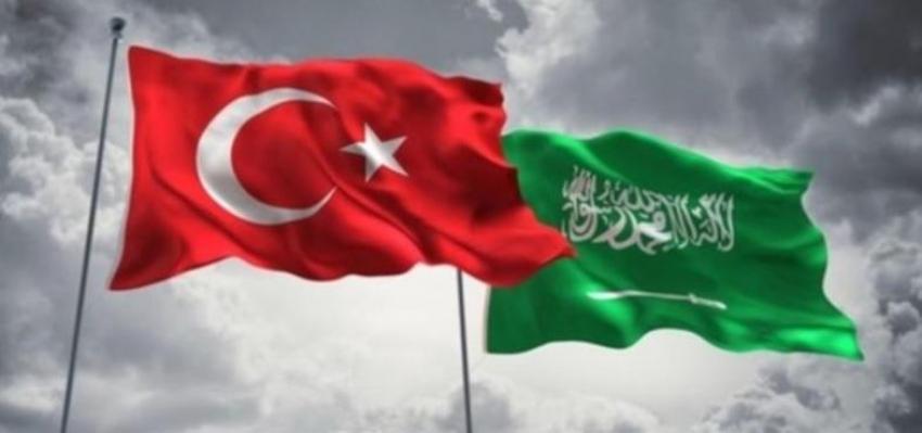 Türkiye-Suudi Arabistan görüşmesi