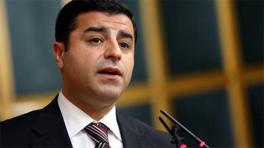 Demirtaş, HDP'yi şok etti