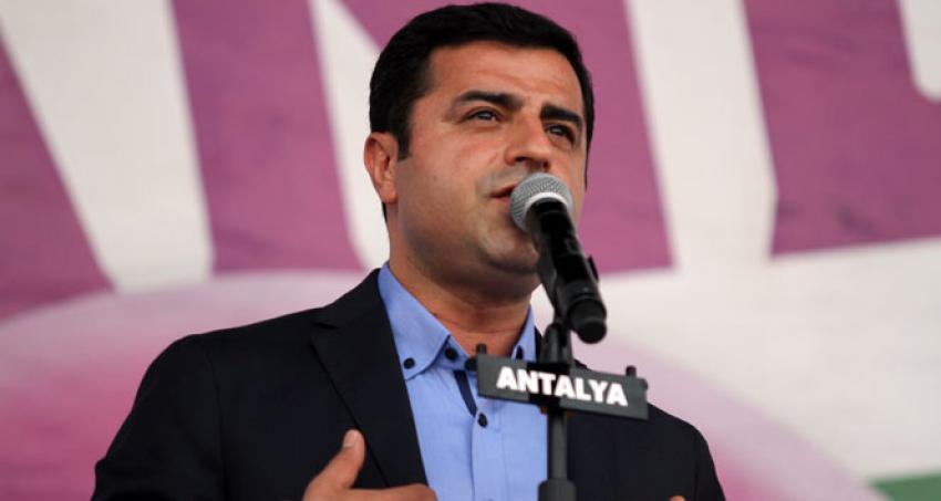 Demirtaş, İstanbul Valiliği'nin kararını eleştirdi