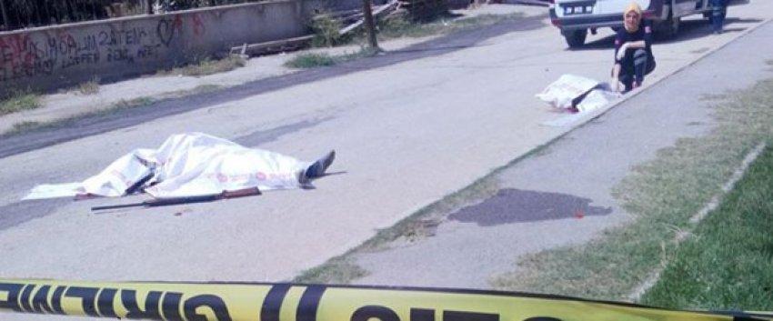 Denizli'de eşini sokakta öldürüp, intihar etti
