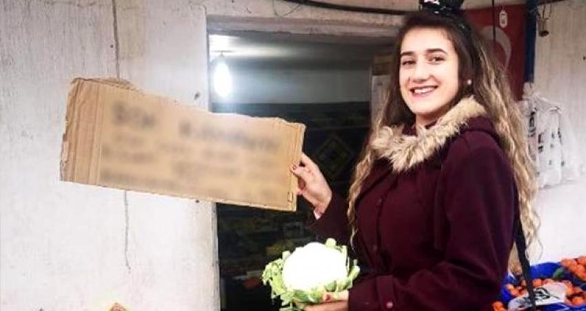 Manavdan sevgililer gününe özel yüz güldüren kampanya