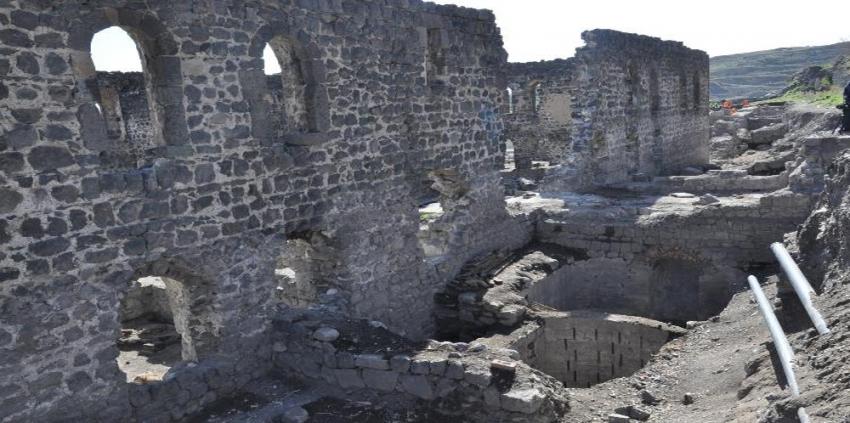 16. yüzyıla ait su sarnıcı bulundu