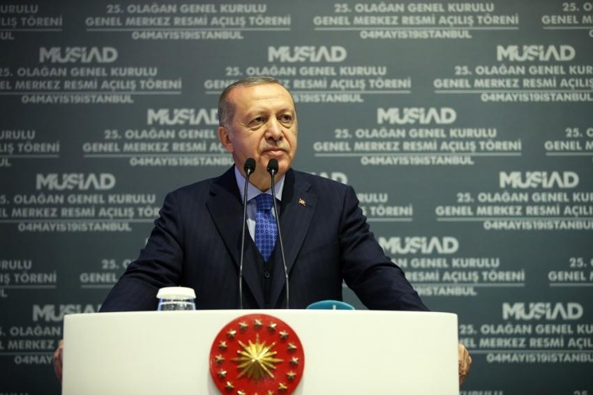 """Cumhurbaşkanı Erdoğan: """"YSK başkanı niçin 'siz nasıl olur da bizi tehdit edersiniz' demiyor"""""""