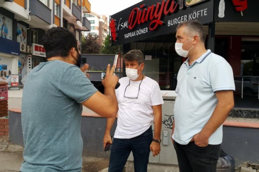 Bursa'da ilginç diyalog: Karım benimle kavga edebilir