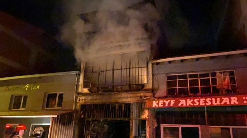 Bursa'da sünger deposu bir ayda 2 kez yandı