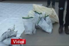 Diyarbakır'da 80 kilo patlayıcı ele geçirildi